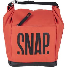 Snap Big Chalk Bag Fleece, rojo